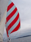 Red Spinaker